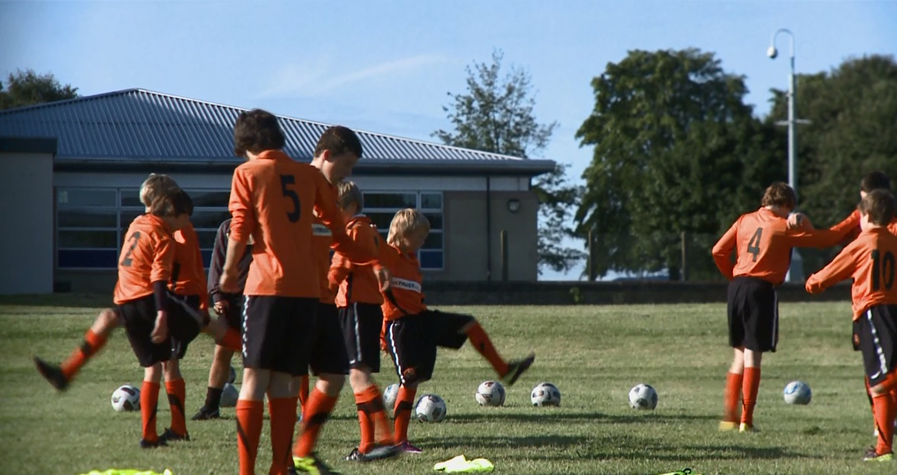 "Click the image to watch ""Dundee United - Footballers of the Future"""
