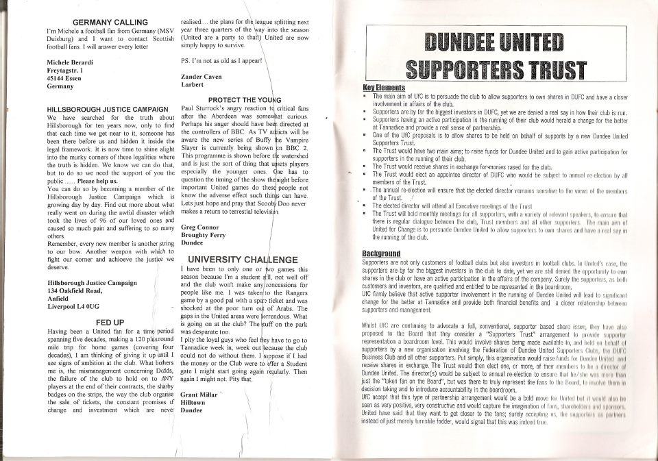 The Final Hurdle fanzine (issue 46) March 2000