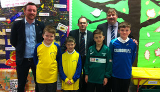 ArabTRUST and DFCSS Sponsorship of Dundee Schools' FA Primary Leagues Reaches Ten Years