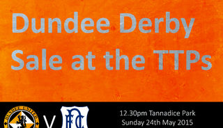 End of Season Sale at the Dundee Derby