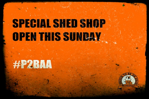 Derby Day Shed Shop This Sunday
