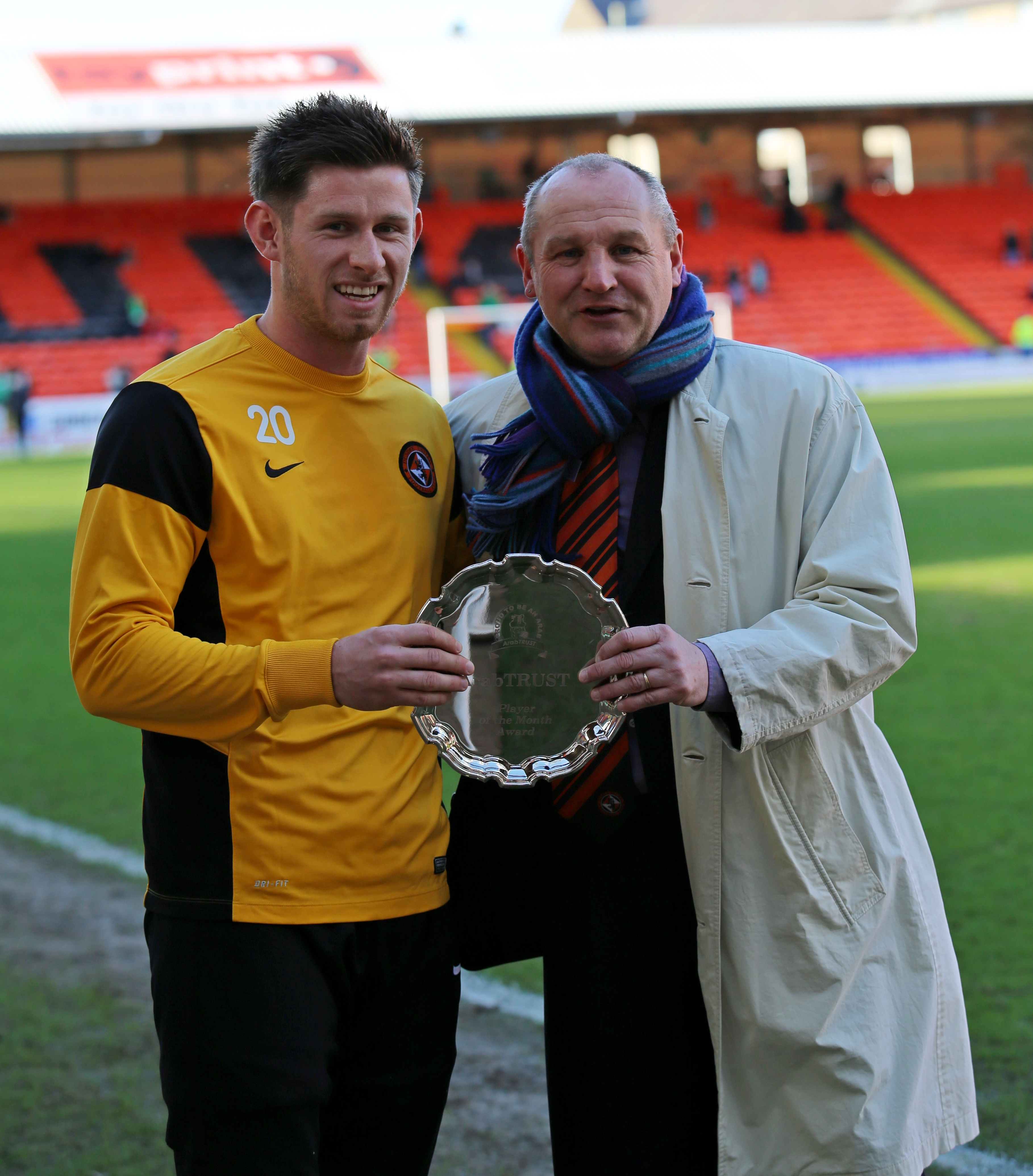 Calum Butcher Voted February Player of the Month
