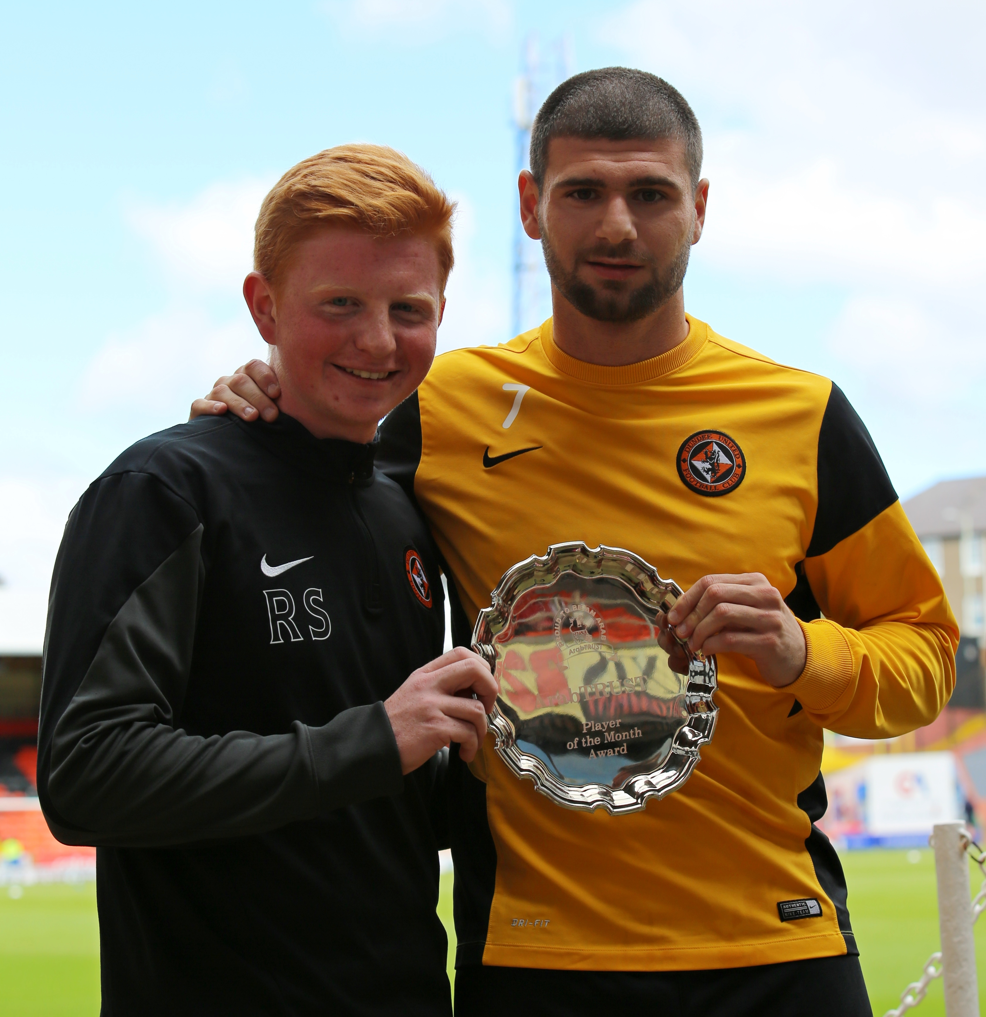 Nadir Çiftçi Voted Player of the Month April 2015
