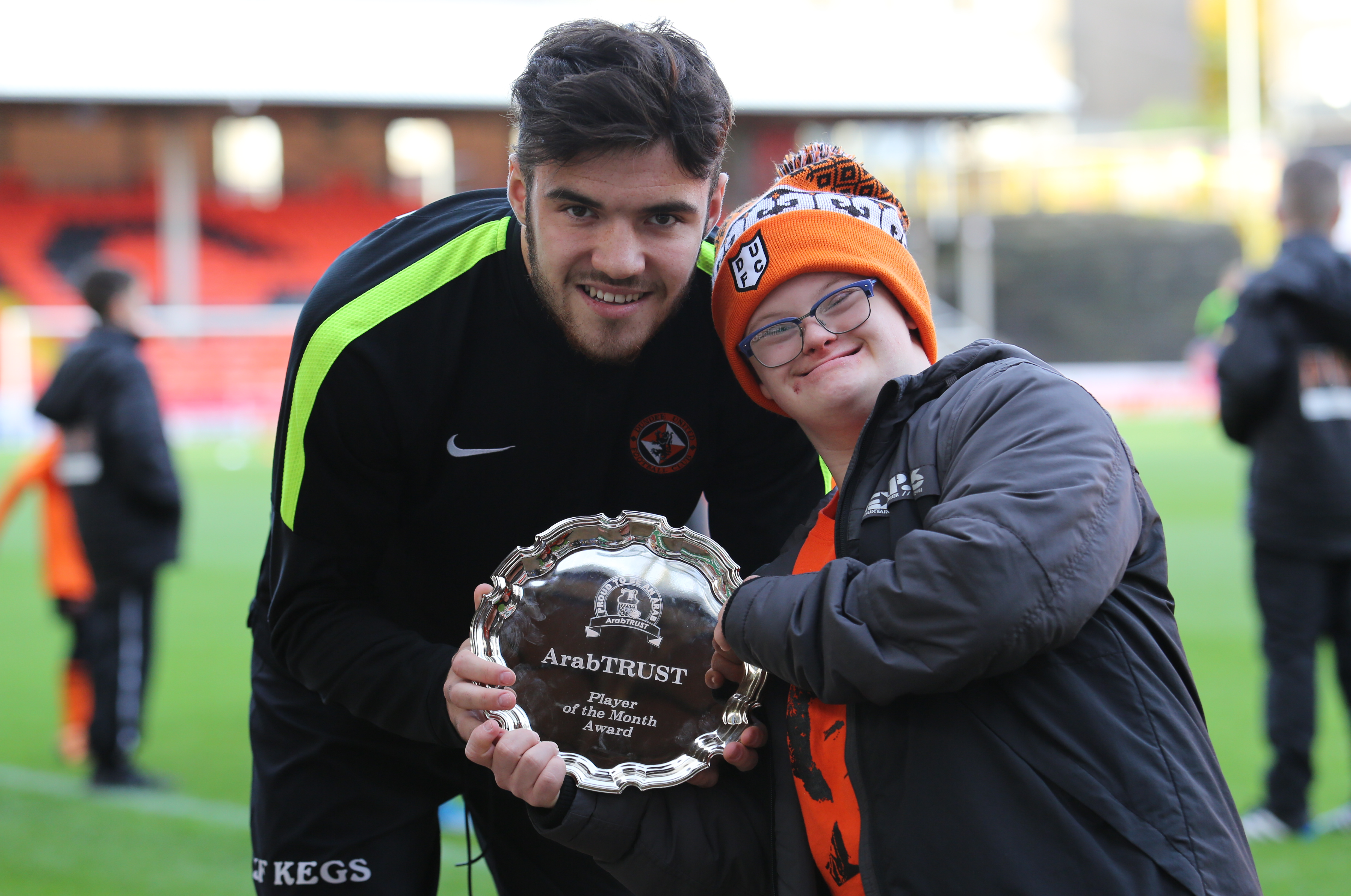 Scott Fraser Voted ArabTRUST Player of the Month