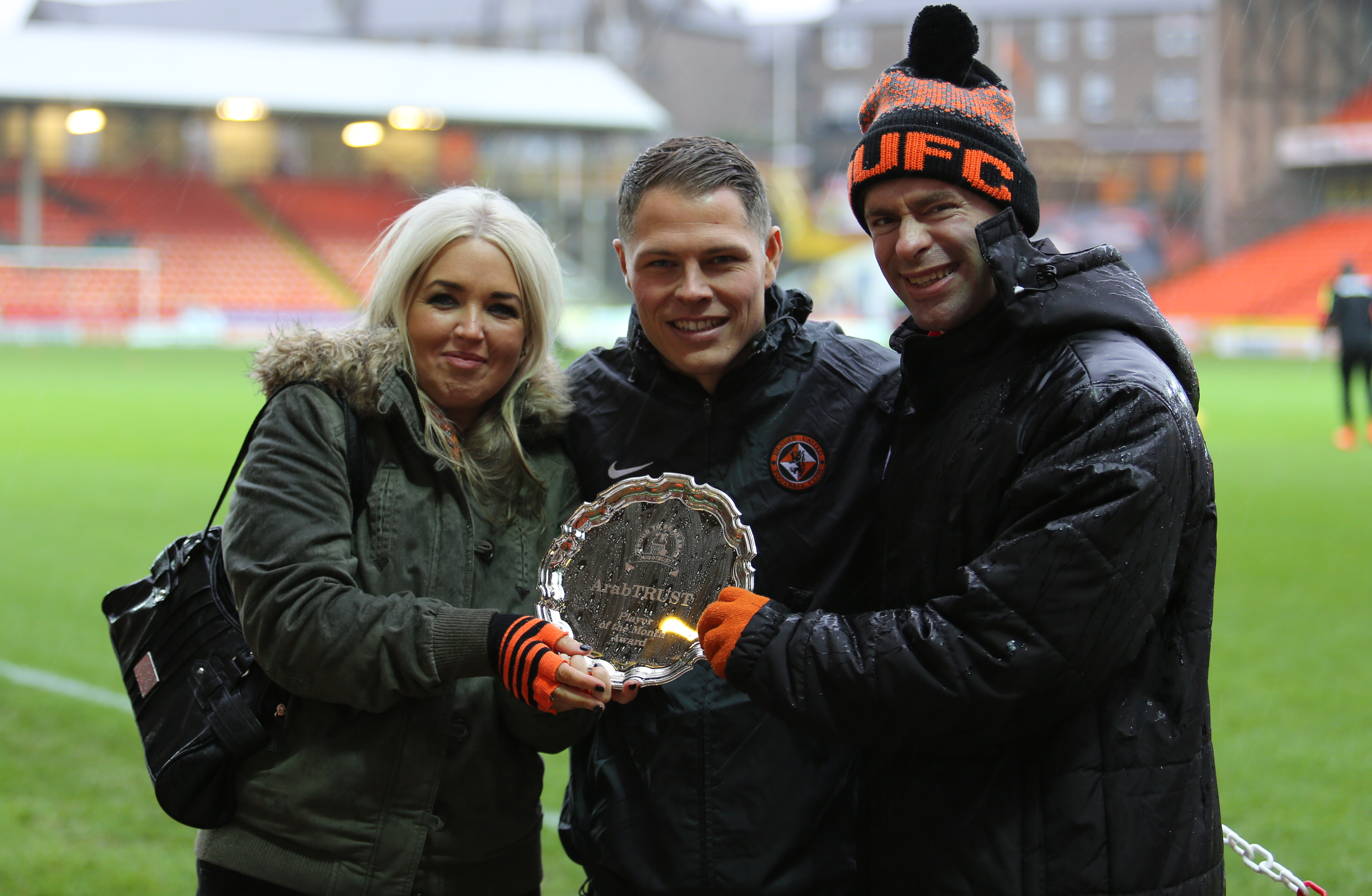 John Rankin Voted October Player of the Month