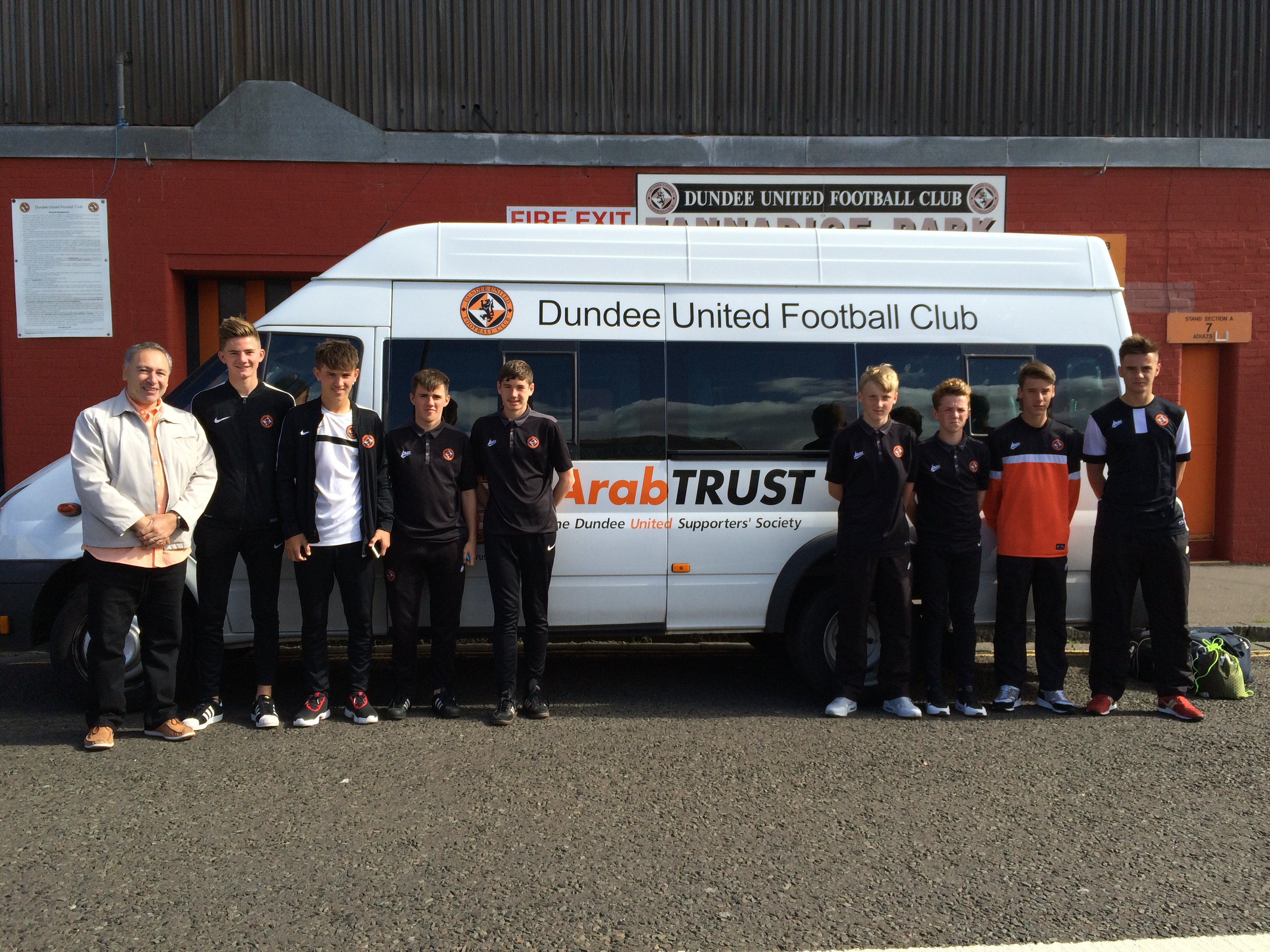 ArabTRUST Supporting United's Youth