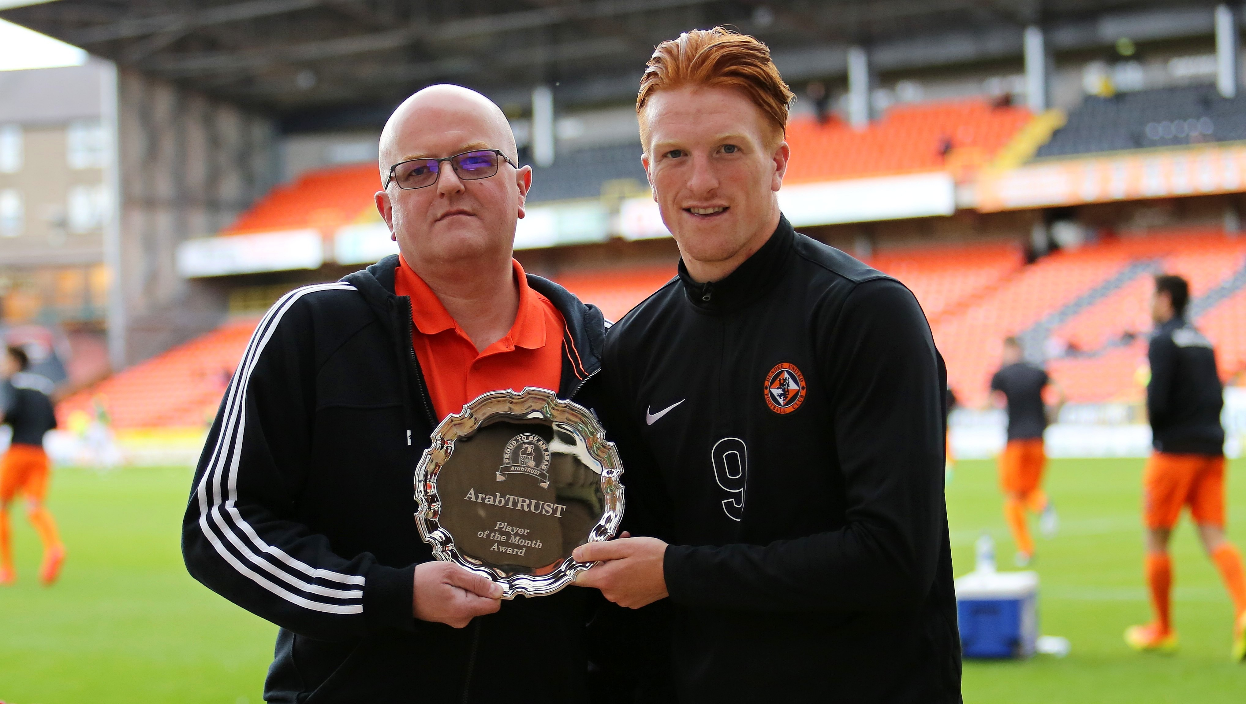 July Player of the Month Presentation - Simon Murray