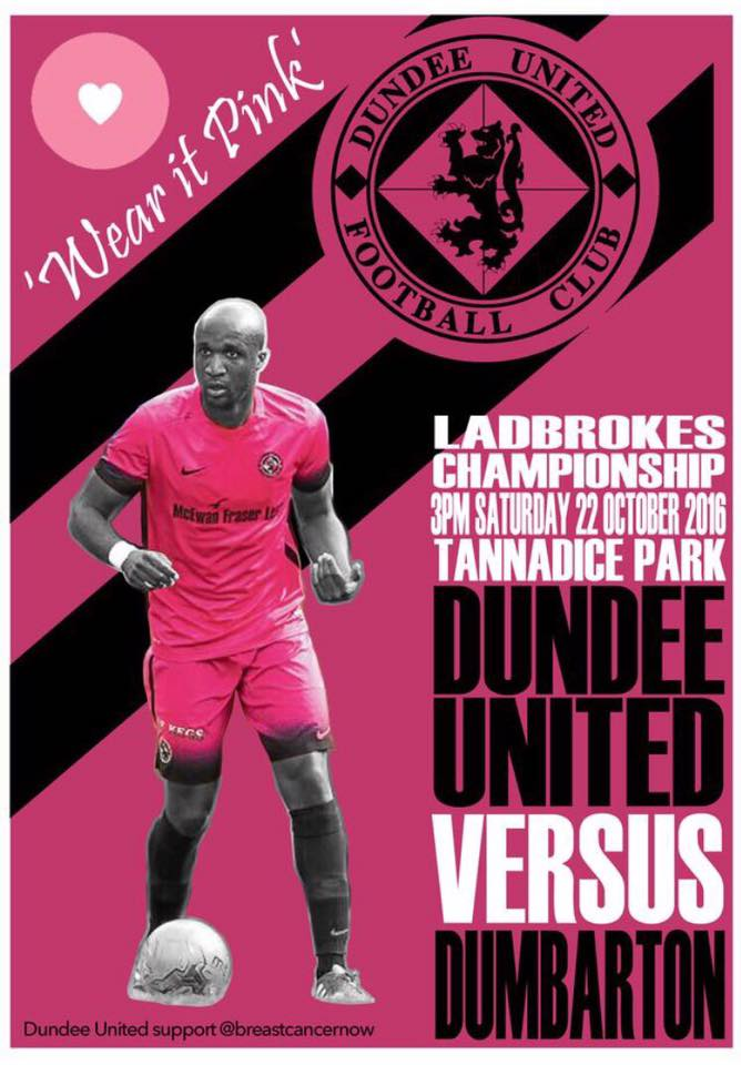 WEAR IT PINK! AT SATURDAYS GAME