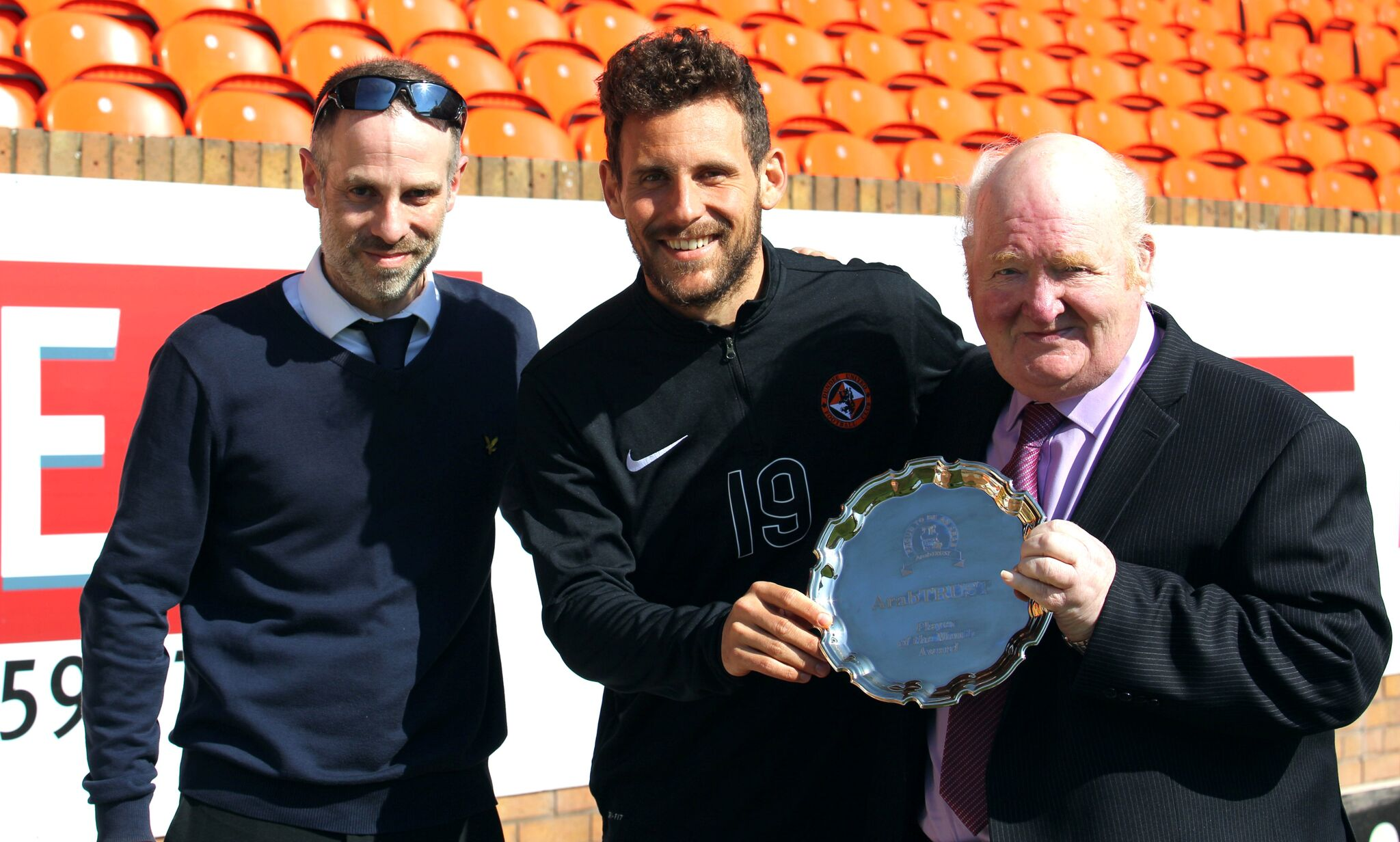 March Player of the Month Tony Andreu