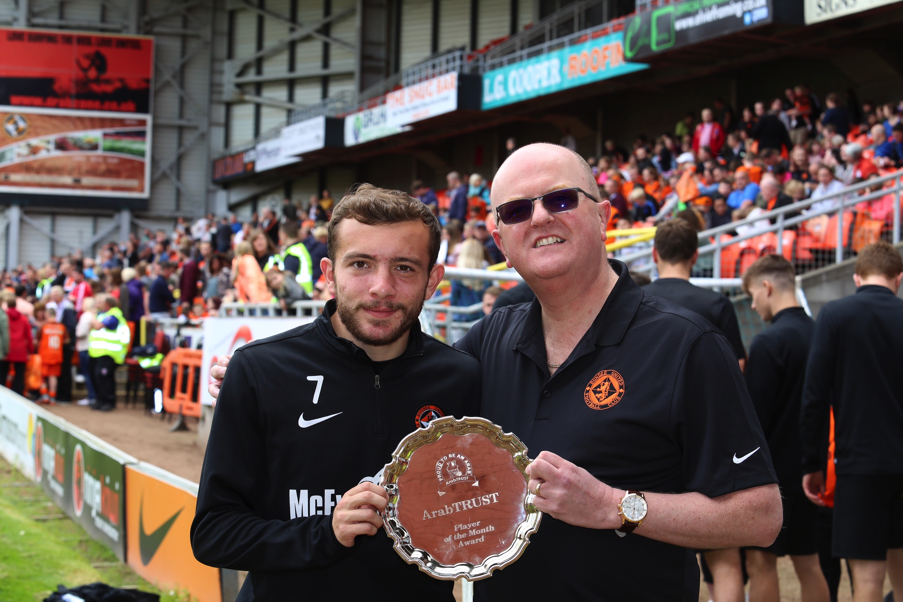 Paul McMullan - ArabTRUST July 2017 Player of the Month