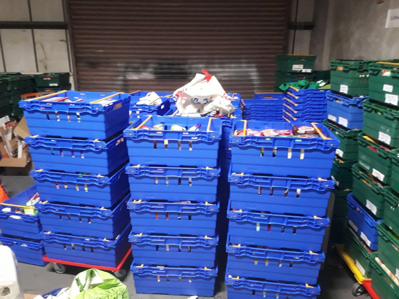 Foodbank Collection December 2017