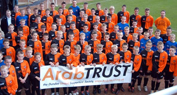 ArabTRUST Youth Football Festival May 19th at Tannadice Park