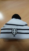 New DUFC White & Black Bobble Hat