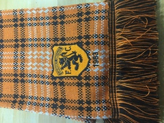 Tangerine & Black Check 1983 DUFC Scarf